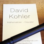 David Kohler business card thumbnail